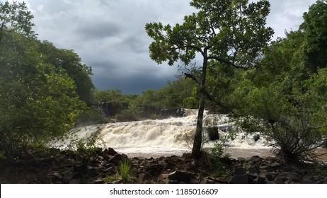 Waterfall in florest
