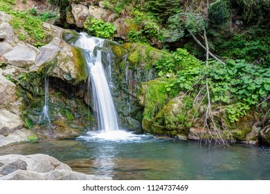 Waterfall in the forest.