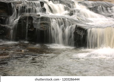 waterfall in the Forest National park ,Huai chan  waterfall , Khunhan District sisaket Province,northeast  of Thailand,asia