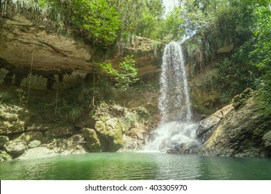 Waterfall in Gozalandia, Puerto Rico