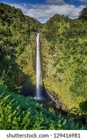 Waterfall, Hawaii Big Island