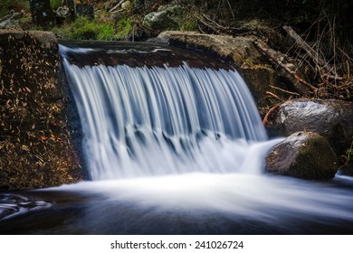Waterfall, horizontal composition