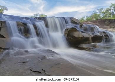 Waterfall (Huy-jun) Sisaket,Thailand.