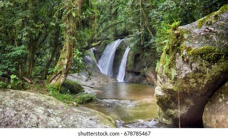 Waterfall Ilhabela