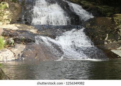 Paquetá waterfall in Ilhabela, Brazil