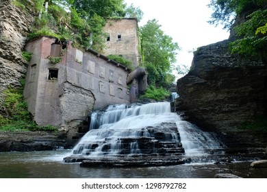 Waterfall in Ithaca