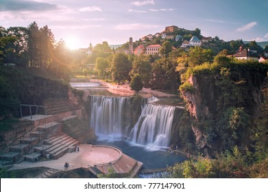 Waterfall in Jajce