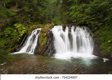 Waterfall just outside of Juneau, Alaska