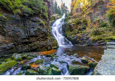 Waterfall Kamienczyk Szklarska Poreba