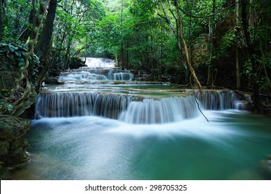 waterfall , kanchanaburi