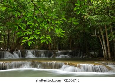 Waterfall In Karnchanaburi, Thailand