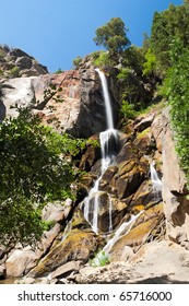 Waterfall in Kings Canyon