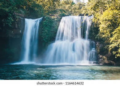 Waterfall in Koh Kut Island, Thailand