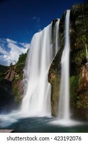Waterfall Krcic, Krka river- Knin