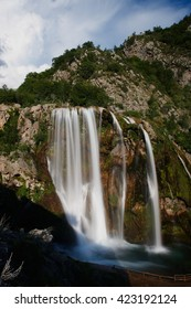 Waterfall Krcic, Krka river- Knin