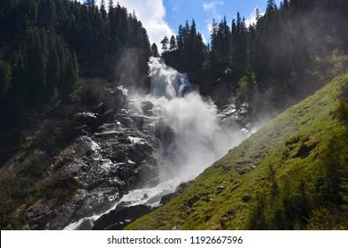 Waterfall Krimml, Austria