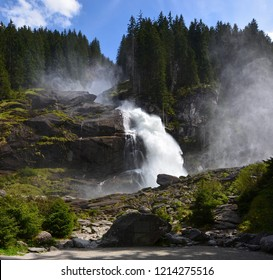 Waterfall Krimml in Austria