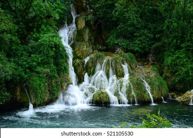 waterfall, Krka National park, Croatia, Europe,
