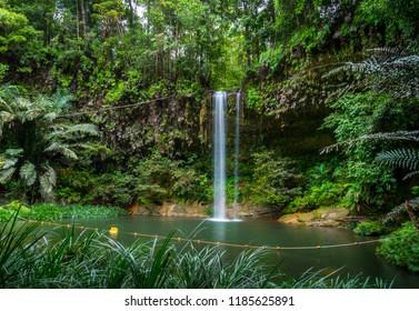 Waterfall at Lambir National Park, Miri, Sarawak.