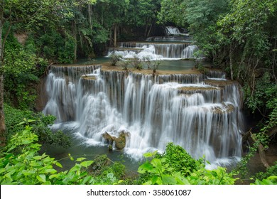 Waterfall landscape in Thailand
