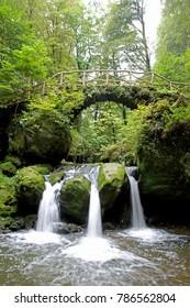 Schiessentümpel Waterfall in Luxembourg's Little Switzerland
