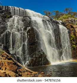 Waterfall Mackenzie is the most famous waterfall of the Park Grampians in Victoria