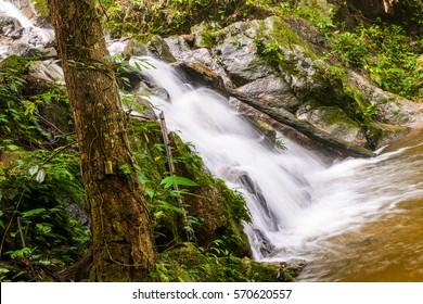 Waterfall in maekampong, Chiang Mai Thailand.