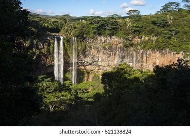 Waterfall, Maurice Island