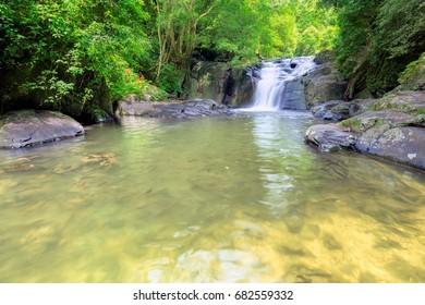 Waterfall in National Park, PALA-U Waterfall, Thailand