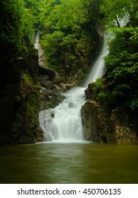 Waterfall at a national park,Thailand