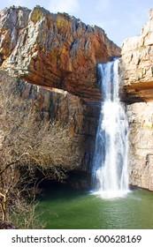 Waterfall, Despeñaperros Natural Park, Andalusia, Spain.