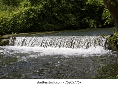 waterfall in nature park