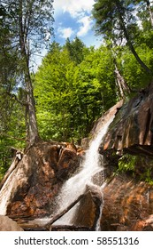 Waterfall near Mont Tremblant, Quebec, Canada