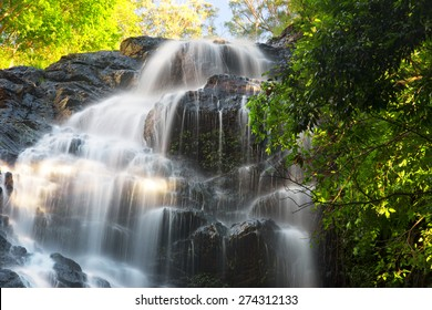 Waterfall near Montville, Sunshine Coast Hinterlands in Queensland.