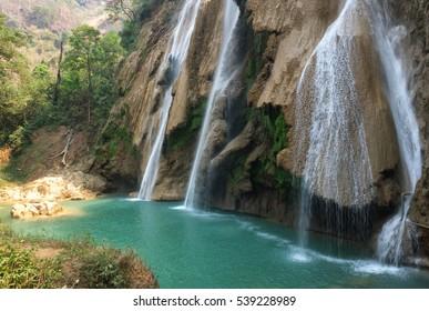 Waterfall near Pyin Oo Lwin, Myanmar