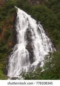 Waterfall near Valdez, Alaska