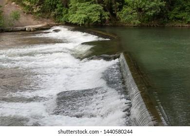 Waterfall in New Braunfels Texas
