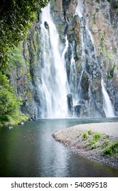 A waterfall at Niagara on Reunion Island.