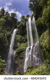 Waterfall in North of Bali Indonesia