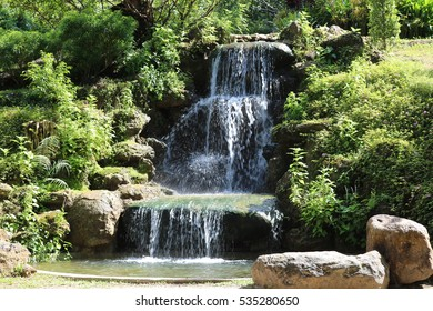 waterfall in park 2