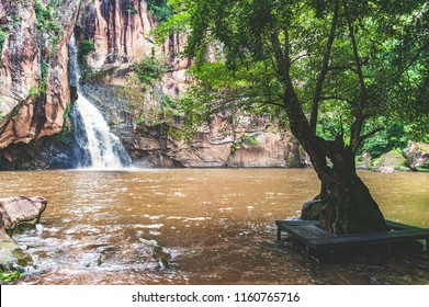 Waterfall in Pitsanulok province, Thailand.