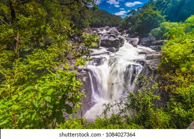 Waterfall, Ranomafana (hot water in Malagasy) National Park, Madagascar