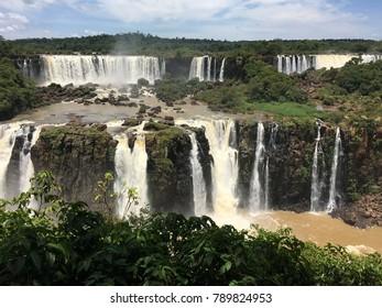 Waterfall Iguaçu River