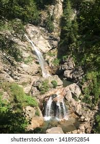 Waterfall river in Groppensteinschlucht, Carinthia, Austria