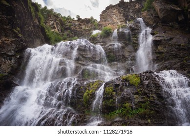 The waterfall in Roc Valley (Gran Paradiso National Park (GPNP), (Itay))