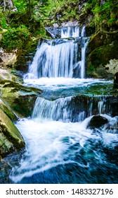 waterfall - rottach-egern - bavaria - germany