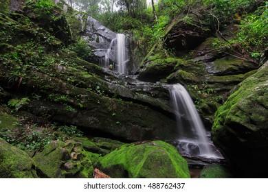 waterfall Saithip and mos
