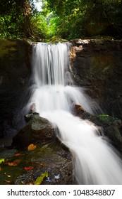 waterfall in samui