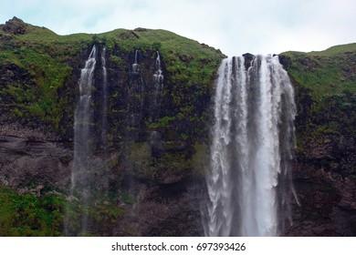 Waterfall, Seljalandsfoss, Iceland
