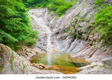 Waterfall at Seoraksan National Park, South korea